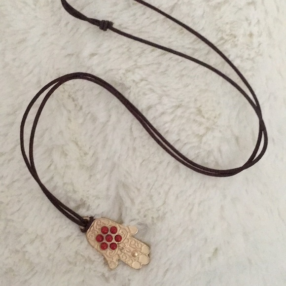 Jewelry - Boho Hamsa Necklace